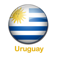 Uruguay pin